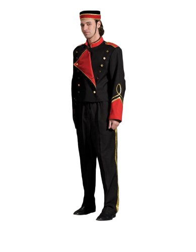 [Men's Bellhop Theater Costume, XLarge] (Bellboy Costumes)