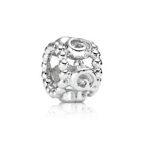Pandora Silver Ring of Roses Bead