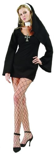 Adult Sexy Nun Costume Plus Size (16-18)