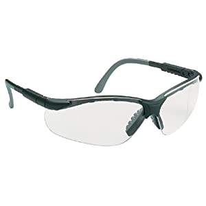 Lux Optical - Safety glasses MIRALUX Black/clear