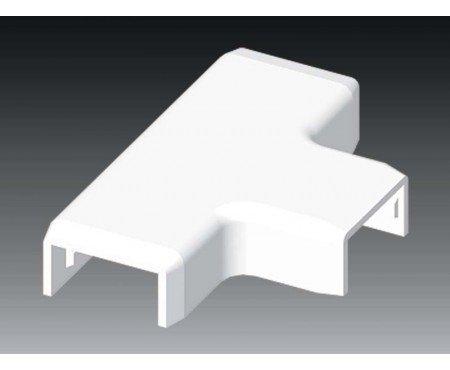 Abzweigstück T-Stück passend für 25x15 mm Kabelkanal weiß Profiware von MD