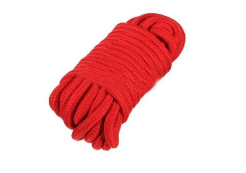 Jeanjean 10m Soft Bondage-Seil-Bügel Fesseln Erwachsener Fantasie Sexy Spielzeug rot