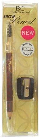Body Collection Brow Pencil with Free Sharpener - Brown