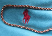 Solid Copper 24 Inch Rope Chain Necklace CN6141D