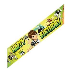 Ben 10 Party Banner