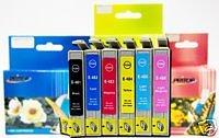 12Pk Epson T048(2Pk-T0481 2Pk-T0482 2Pk-T0483 2Pk-T0484 2Pk-T0485 2Pk-T0486) Replacement Ink Cartridge For Epson Stylus Photo R200 R220 R300 R300M R320 R340 Rx500 Rx600 Rx620. By Pritop