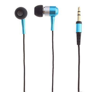 Headphone - Fashionable In-Ear Headphone With Zipper ( Color : Blue )
