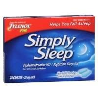 Simply Sleep Nighttime Sleep Aid, 24 ea Pack of 2