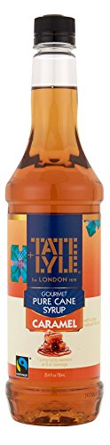Tate+Lyle Fairtrade Pure Cane Sugar Caramel Syrup, 750mL (25.4oz) Bottle (Ninja Bunn compare prices)