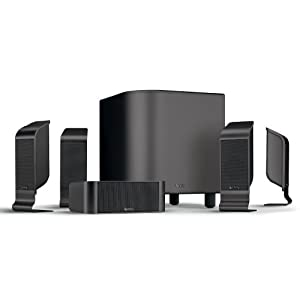 Infinity TSS-800CHR High-Performance, 6-Piece Home Theater Speaker System (Charcoal Black)