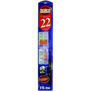 Zebco 22c502ml Sc Fishing Rod And Reel Combo by Zebco