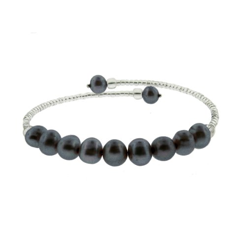 Black Fresh Water Pearl Bracelet