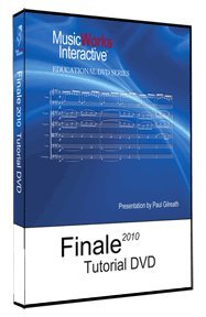 FINALE 2010 Tutorial DVD-ROM