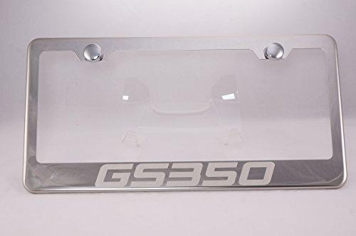 GS350 Laser Engraved Chrome License Plate Frame with Caps (Lexus Gs 350 License Plate Frame compare prices)