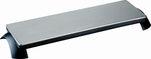 Toastess TWT-30 Silhouette 800-Watt Cordless Classic Stainless-Steel Warming Tray, 3 Plate (Food Warming Tables compare prices)