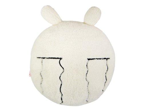 俗布可爱 珍藏版兔斯基搞笑表情靠垫 流泪款图片