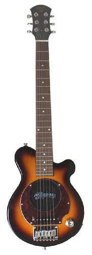 Pignose Pgg-200 Deluxe Electric Guitar With Built-In Amp (Sunburst)