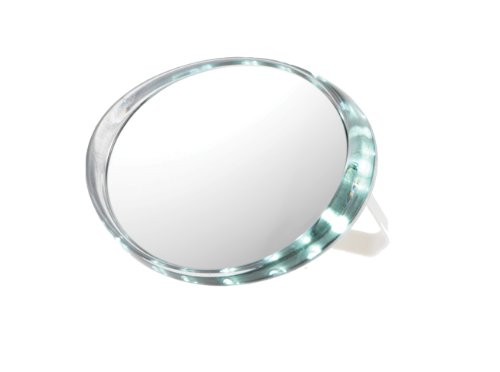Danielle D414 Led Ultimate Travel Mirror, 10X