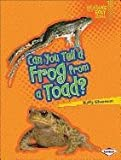 img - for Can You Tell a Frog from a Toad? (Lightning Bolt Books: Animal Look-Alikes (Paperback)) book / textbook / text book
