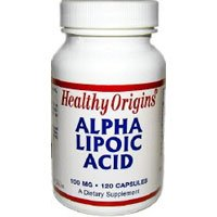 Healthy Origins, Alpha Lipoic Acid, 100 Mg, 120 Capsules (Double Pack)