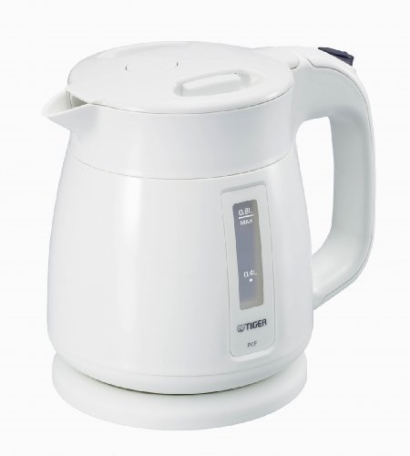 Tiger Electric Kettle Frame Child (0.8L) White Pcf-A080-W By Tiger
