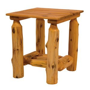 Cheap Fireside Lodge Outdoor End Table in Exterior Stain 22052 (B002U0JRN4)