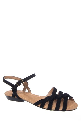 Bass Clementine Flat Ankle Strap Sandal