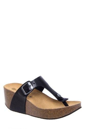 Lola Sabbia Mila Mid Wedge Thong Sandal