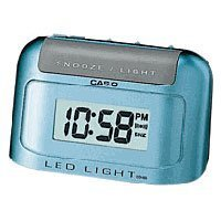 Casio Auto Calendar Digital Travel Alarm Clock #DQ582D-2