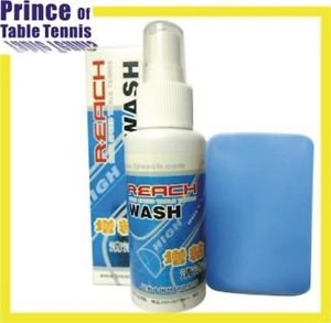 Reach High Speed Table Tennis Wash 110ml (with high density cleaning sponge)