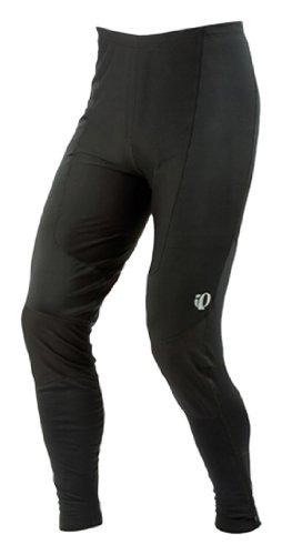 Pearl Izumi Men's Elite Thermal Cycling Tight, Black/ Black, Large