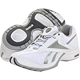 31rf7bn6lHL. SL160  Reebok Womens TrainTone Slimm Sports Conditioning Shoe,White/Pure Silver/Black,9 M US