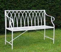 Kings Gothic Design Bench Garden Bench Loop Design