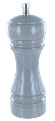 Marlux 245 Moulin à Poivre Hêtre Laqué/Broyeur Acier Gris 14 cm
