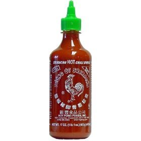 Huy Fong Sriracha Garlic Hot Sauce, 17 fl oz