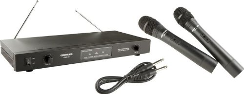 Gem Sound Dual-Channel VHF Wireless Microphone