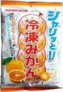早川製菓 シャリッと冷凍みかんキャンディ 85g×20袋