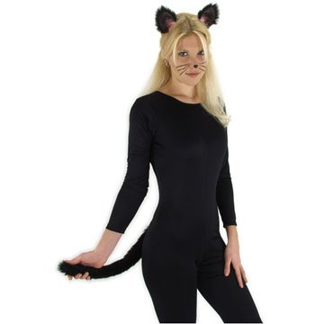 CAT COSTUME ACCESSORY SET, BLACK