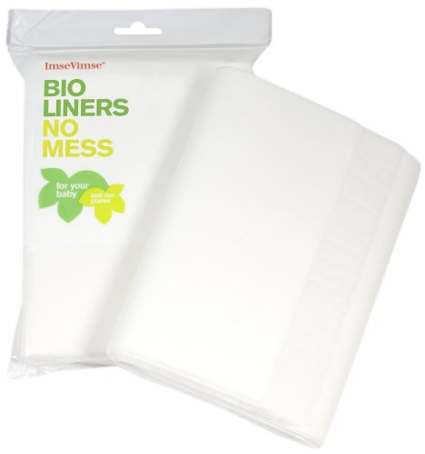 Imse Vimse Flushable Liners - 100 Count (Toddler)