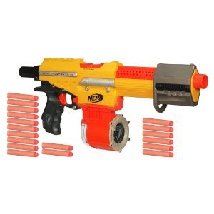 N-Strike Exclusive Alpha Trooper Nerf Machine Gun CS-18 Dart Blaster
