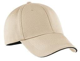 Nike Golf 333115 Adult\'s Dri-FIT Swoosh Flex Sandwich Cap Birch Small/Medium