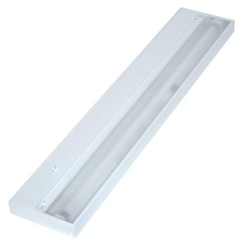 Juno Lighting UPF22-SL Pro-Series Fluorescent Under cabinet Fixture, 22-Inch, 4-Lamp (Brushed Silver)