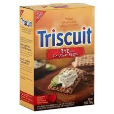 Triscuit Thin Crisps, Rye With Caraway Seeds,