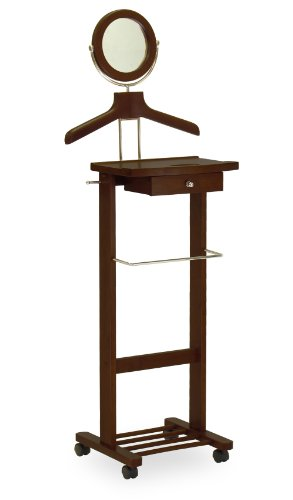 Winsome Wood Valet Stand, Walnut (Standing Valet compare prices)