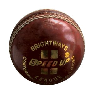 Brightway Speed Up Season Cricket Leather Ball League, Multi Color