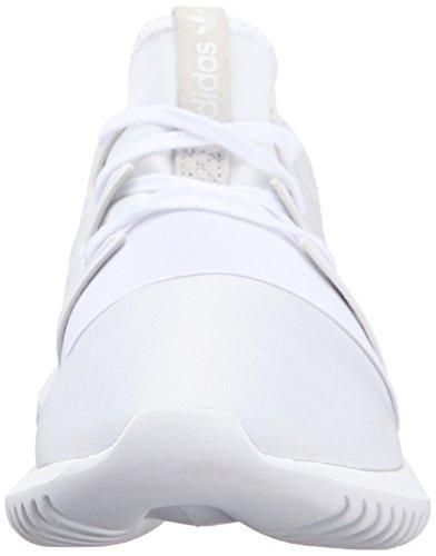 Adidas Originals Women's Tubular Viral W Fashion Sneaker, White/White/White, 8 M US