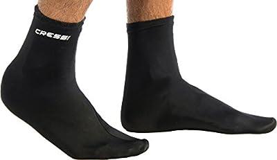 Cressi Watersports Lycra Skin 1mm Soft Socks