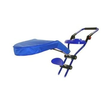 Kettler Deluxe Stroller Pushbar With Canopy And Headrest