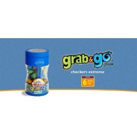 Cranium Grab & Go Checkers Extreme