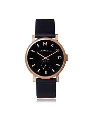 Marc by Marc Jacobs Women's MBM1329 Baker Navy Blue Stainless Steel/Leather Watch